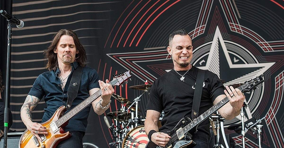Alter Bridge em show ao vivo