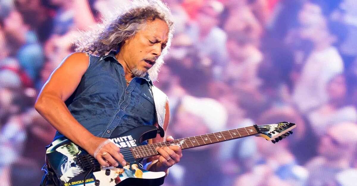 Kirk Hammett tocando ao vivo
