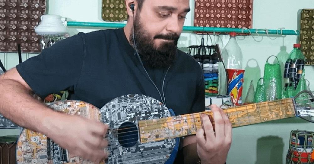 Guitarra de Sucata