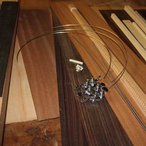 Acoustic Guitar Wood Kit
