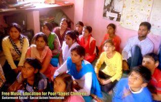 Street Children Delhi