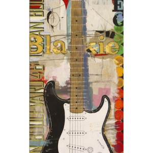 Eric Clapton's 'Blackie' Fender Stratocaster Guitar