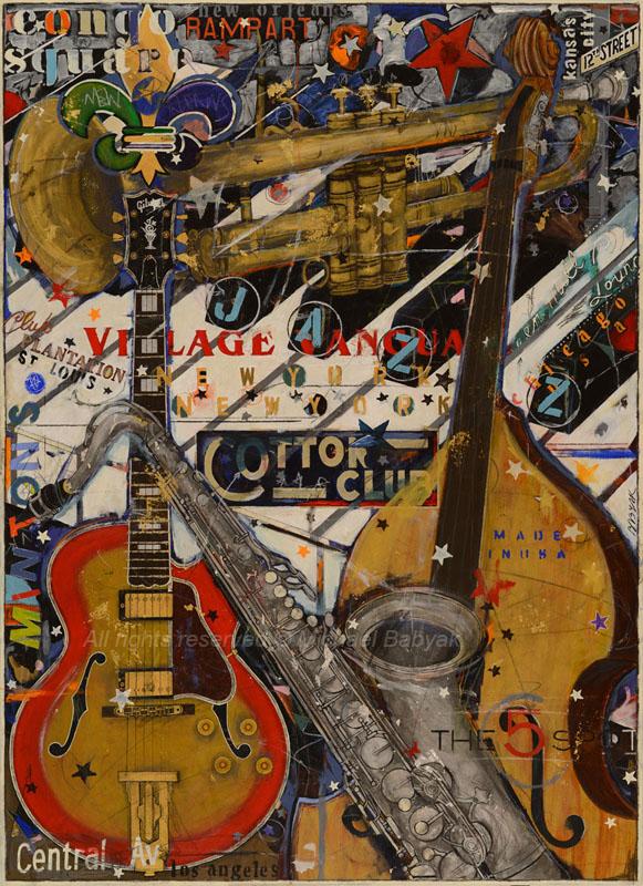 Jazz USA Painting
