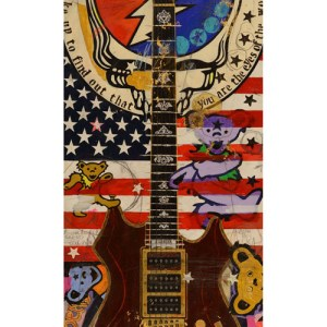 Jerry Garcia Custom Guitar Tiger
