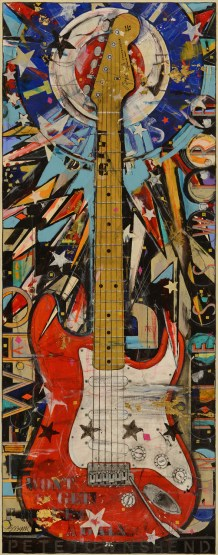 Pete Townshend Red Stratocaster