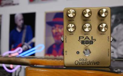 PEDAL PAL FX PAL 800 OVERDRIVE REVIEW