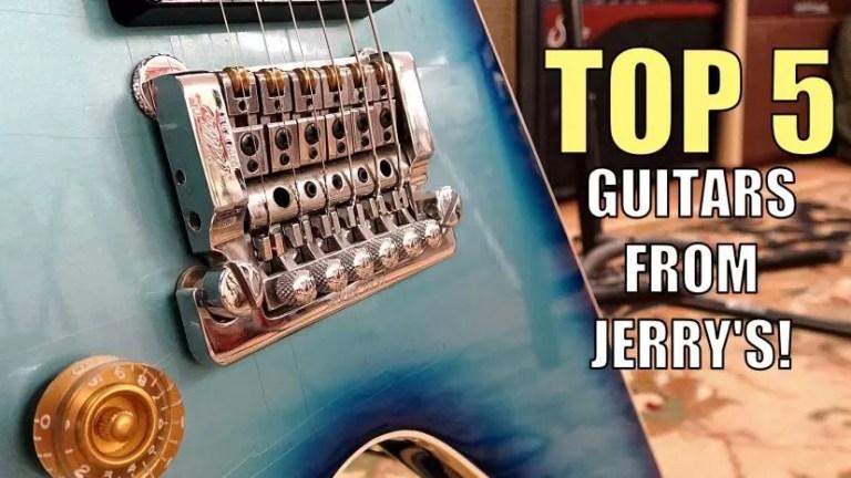 Top 5 Left handed guitars