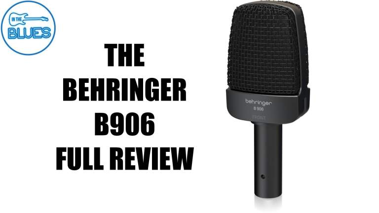 Behringer B 906 Microphone Review