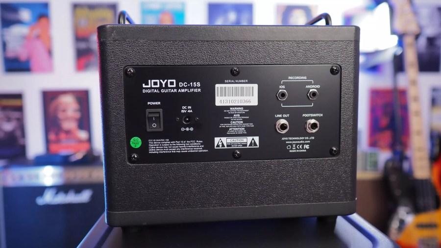 Joyo DC-15S back panel