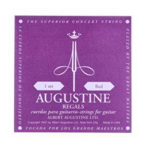 Cuerdas Augustine Regals Red Clásica