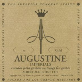 Cuerdas Augustine Imperial Gold