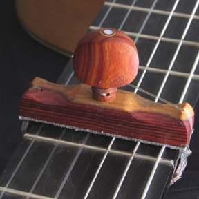 Cejilla artesana de Cocobolo