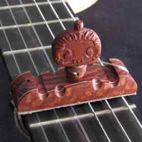 Cejilla artesana Brazilian Lacewood