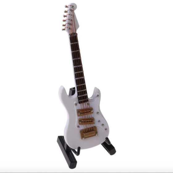 Miniatura guitarra eléctrica