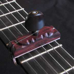 Cejilla de madera palo violeta