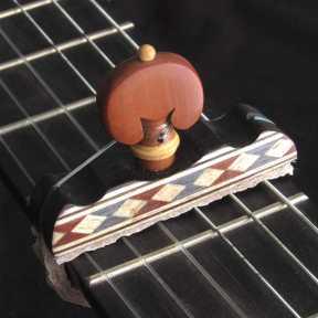 Cejilla flamenca con taracea