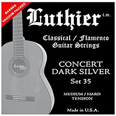 Luthier 35 Dark Silver