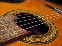 guitarra española foto