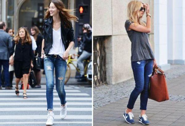 Темные джинсы женские фото – Темно и Ярко-синие Джинсы, с ...