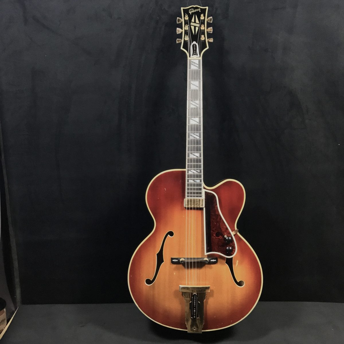 The guitar originated in spain in the 15th century. Gibson Vintage Johnny Smith Archtop Guitar   Guitars 'n Jazz