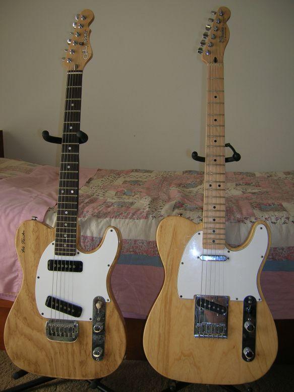 1998 G&L ASAT and 2005 Fender Telecaster