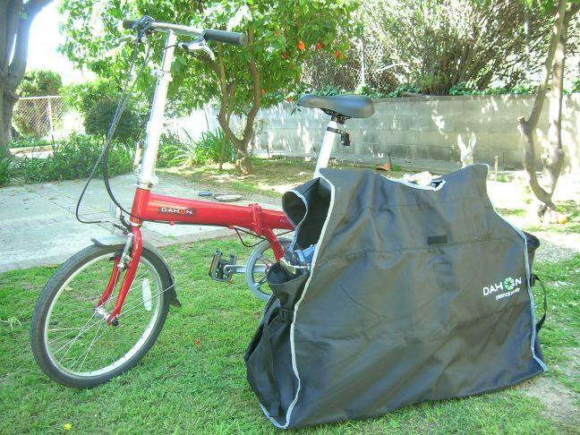 One bike in a bag