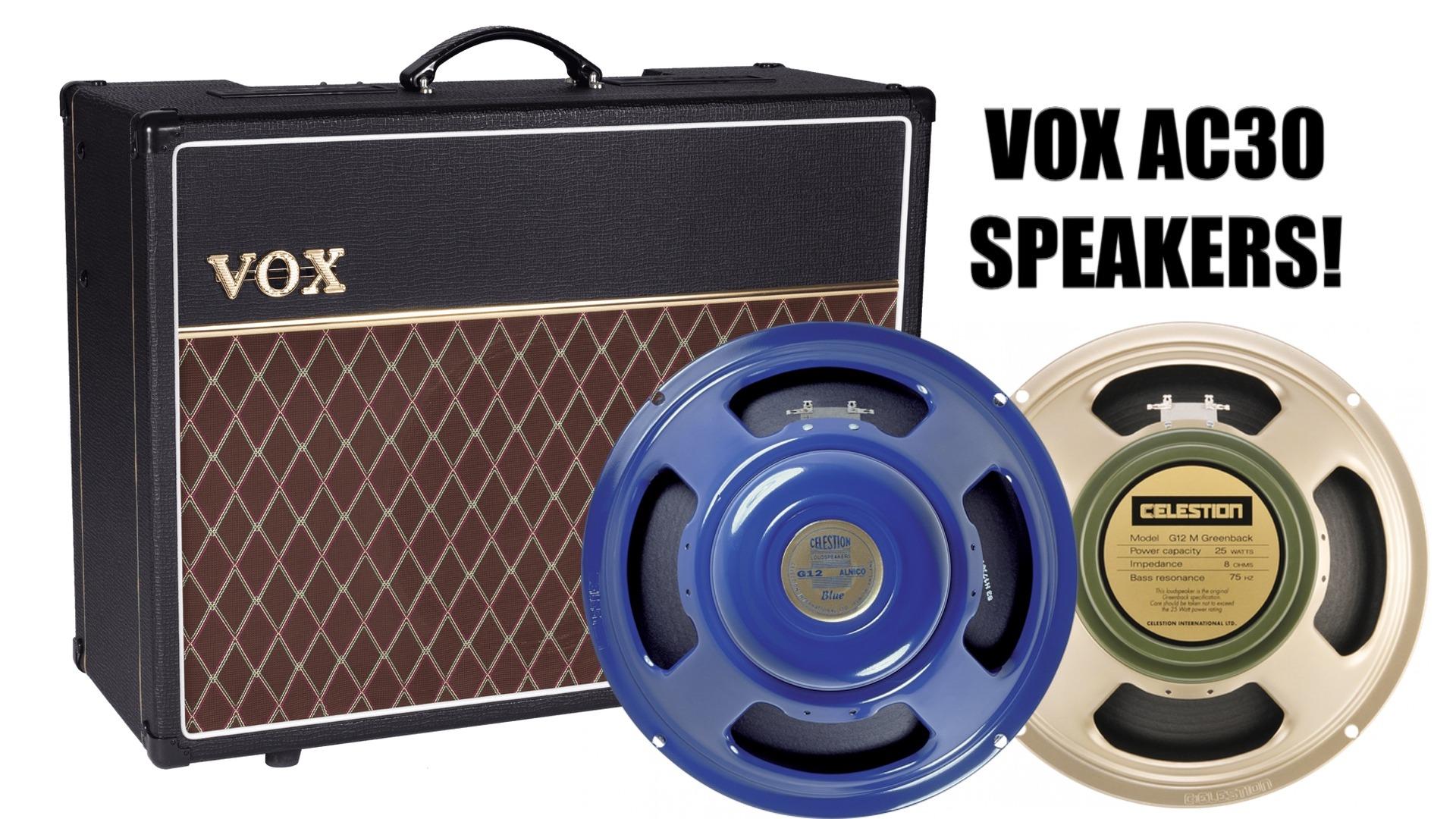 Best Vox AC30 Amplifier Speakers