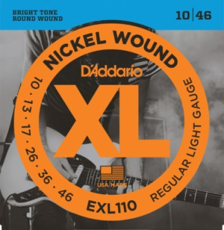 D'Addario Electric Guitar EXL110 Front