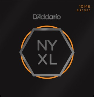 D'Addario Electric Guitar NYXL1046 Front
