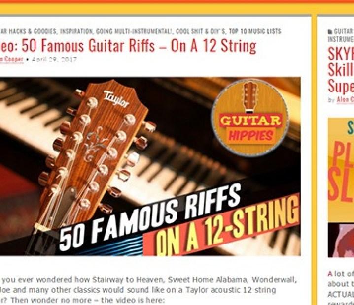 Top 50 Guitar Blogs Worthy To Follow - GuitarTrance com