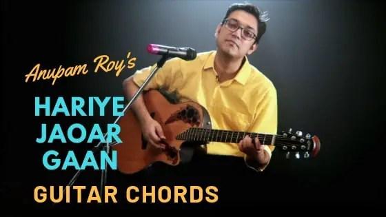 Era Sukher Lagi Guitar Chords Iman Chakraborty Sweater Guitartwitt