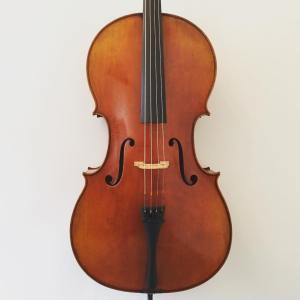 Modern Belgian cello labelled Pierre Marcel