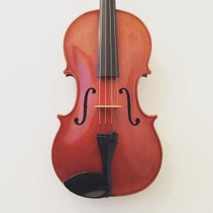 "English viola by Mark O'Brien (16 1/4"") dated 1998"