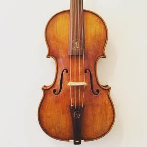Modern Polish baroque violin by Jan Bobak