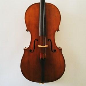Austrian cello by Wilhelm T. Jaura