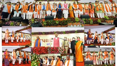 Introduction to the newly formed cabinet ministers of the gujarat stateરાજ્યના-નવરચિત-મંત્રી-મં