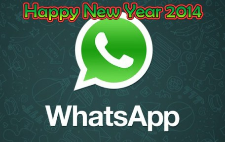 Happy New Year SMS 2014 Whatsapp Messages Greetings Cards Download