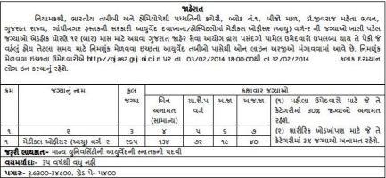Ayurved Medical Officer Recruitment 2014