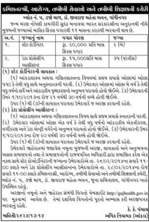 Gujhealth Recruitment