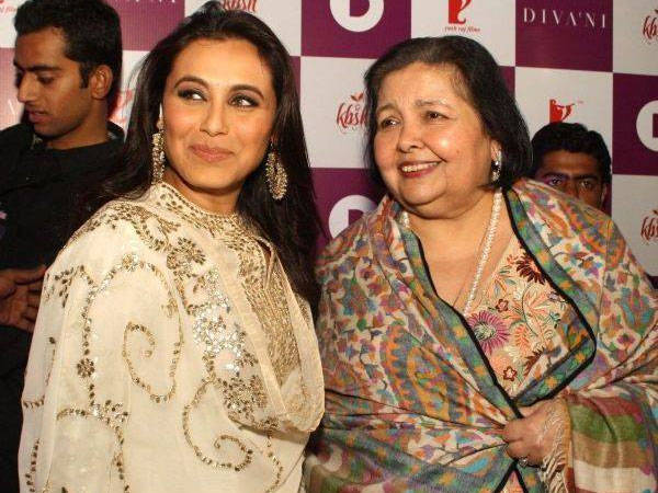Pamela Chopra and Rani Mukerji take forward the legacy of Late Yash Chopra   Bollywood Bubble