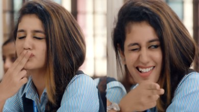 Photo of Complaint Against Priya Prakash, Who Came to Discuss The viral videos
