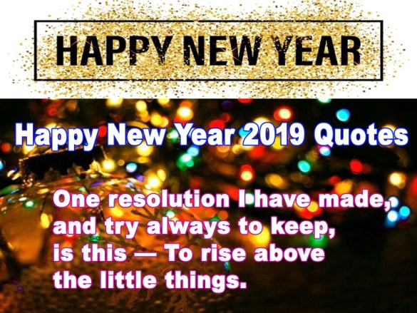 Happy New Year Quotes 2019 79