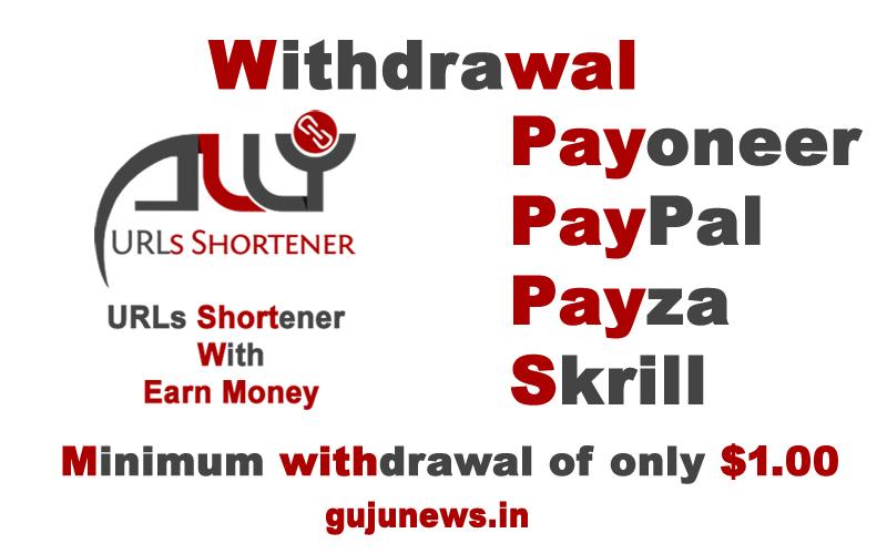 Url Shortener Earn Money ALLY Url shortener Apk, API, Custom
