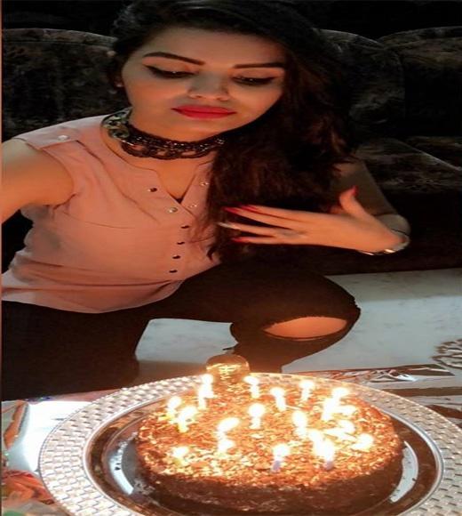 sonali birthday, actress sonali raut birthday, birthday celebration of sonali raut