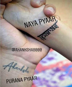 akanksha puri tattoo