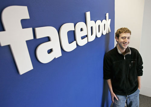Mark Zuckerberg, collectivist piece on the global chessboard, credited as founding Facebook