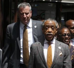 Al Sharpton, Bill de Blasio