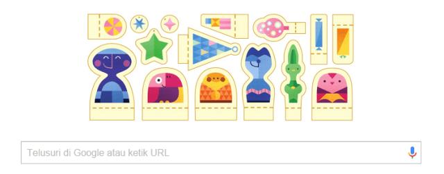 Google Doodle Selamat Liburan