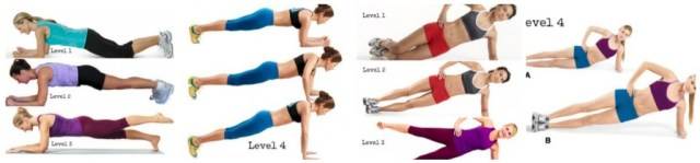 Plank Possition via eatdrinkandbeskinny.com