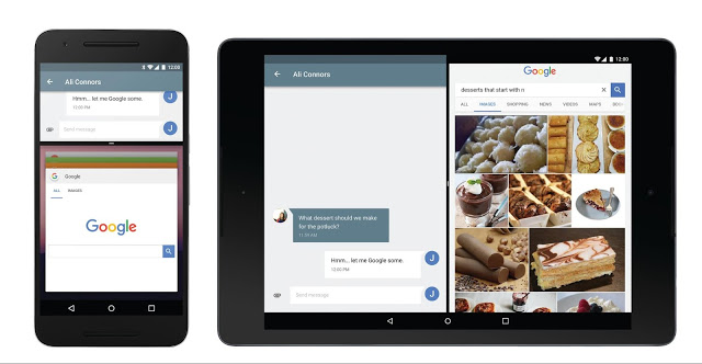 Fitur Multi window Android N